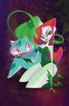 Poison Ivy and Bulbasaur