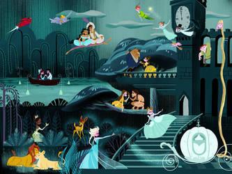 A Disney World by spicysteweddemon