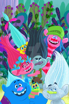 Dreamworks Trolls Cover