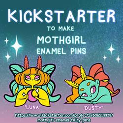 Enamel Pin Kickstarter by spicysteweddemon