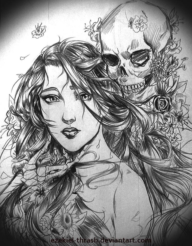 The Love Affair of Life and Death by Ezekiel-Thrash