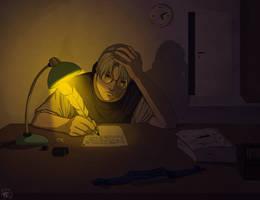 NARUTO: Kabuto at work by Aryn2108