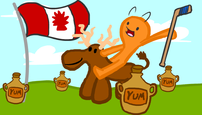 Happy Canada day by BlamanAnims
