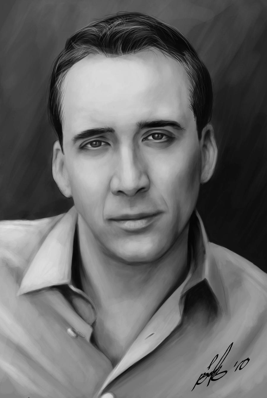 Nicolas Cage Paintings Etsy Canada