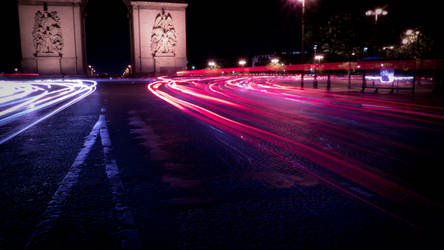 Long exposure in Paris 001 by ekion