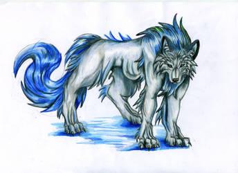 sea wolf by VioletMinim