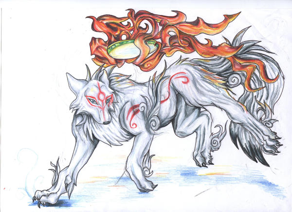 okami by VioletMinim