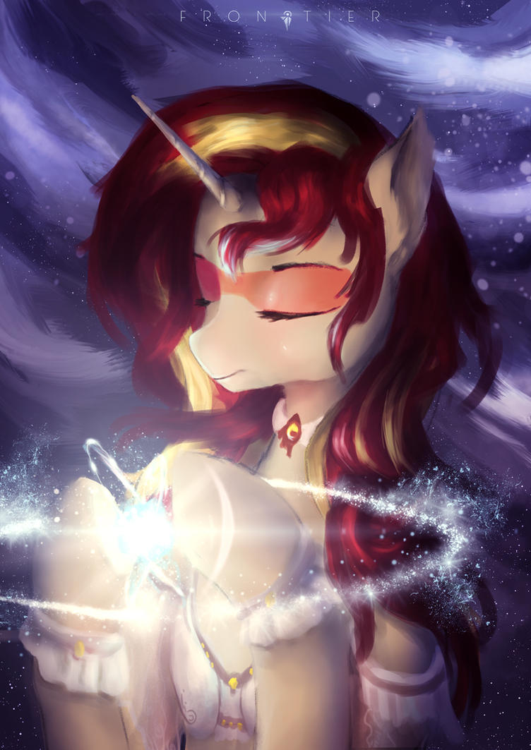 Commission - Goddess Sunset Shimmer by Aidelank