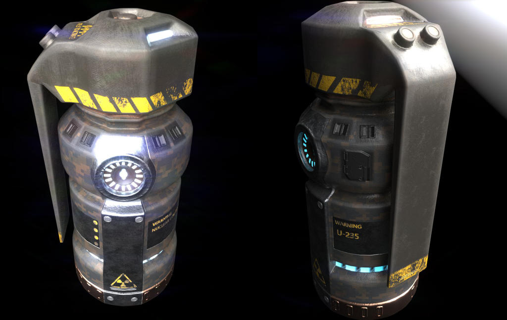 EG-180 Nuclear Grenade by Aidelank