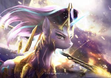The Legion of Harmony - Master Starlight Glimmer by Aidelank