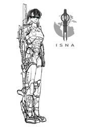 Ovia as ISNA Combat Specialist