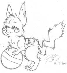 Another Pika in Bree Style