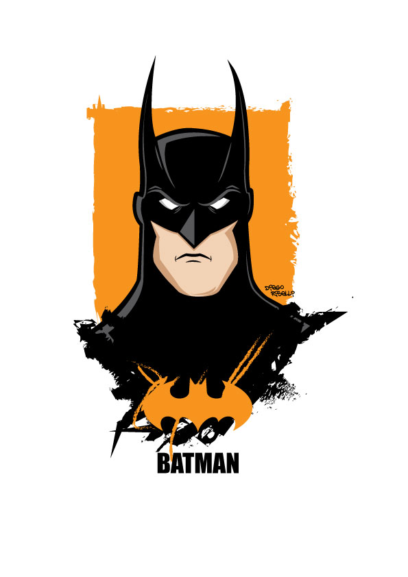 Batman - Vector by funky23 on DeviantArt