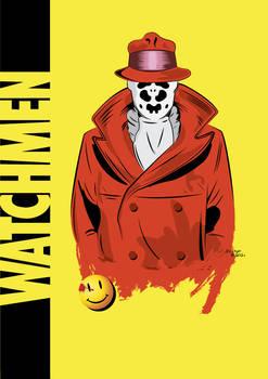 Watchmen - Rorschach Vector