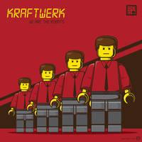 Kraftwerk Lego Vector by funky23