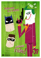 Batman Vector by funky23