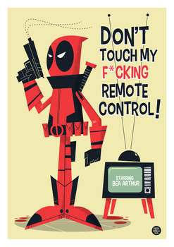 Deadpool Vector by funky23