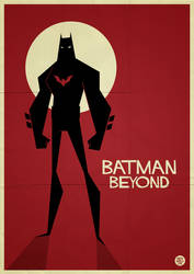 Batman Beyond Vector by funky23