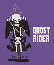 Ghost Rider Vector