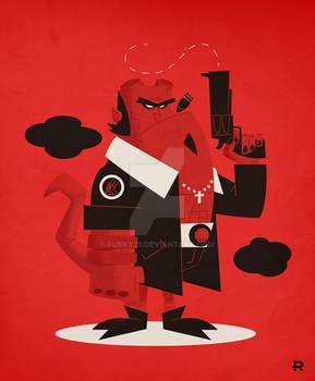 Hellboy Vector