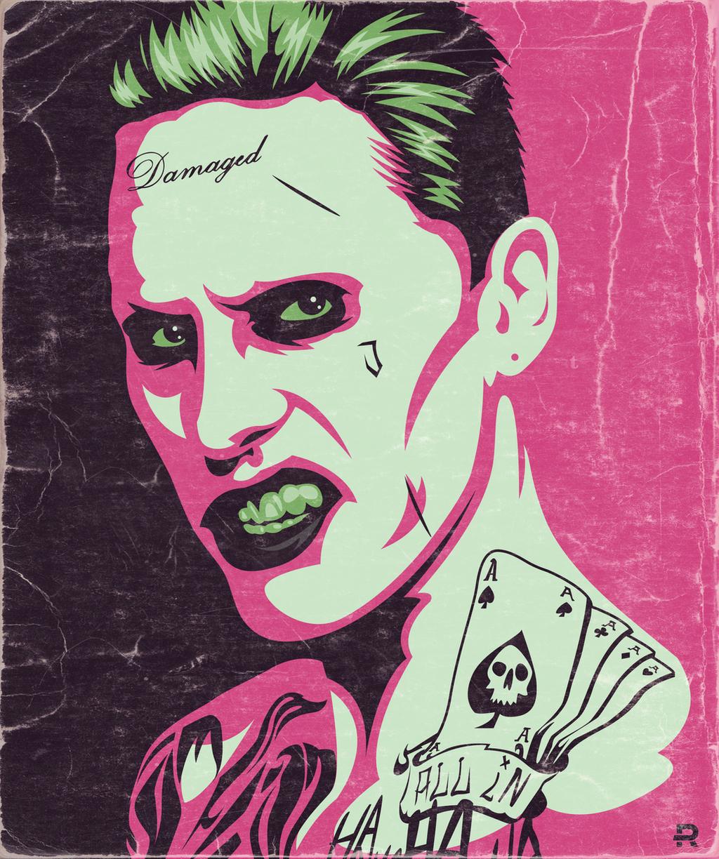 Joker Portrait by funky23