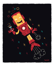 Iron Man by funky23
