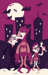 Bat-Zombie by funky23