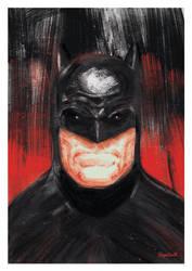 Batman Digital Painting by funky23