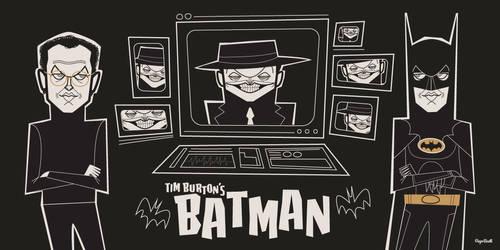 Batman 1989 30th Anniversary by funky23