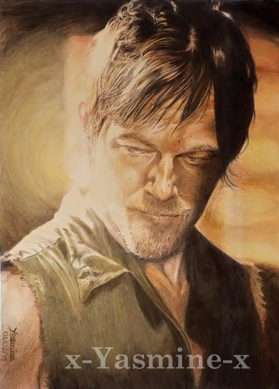 Norman Reedus as Daryl Dixon by x-Yasmine-x