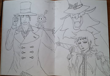 Millenium Earl and Road fanart by The-Empress-Shark