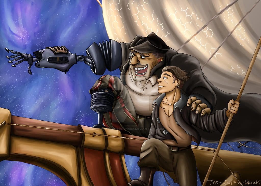 Treasure Planet -  What do you See at Prow? by The-Empress-Shark