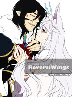 Comm: Aki and Takara by megumonster
