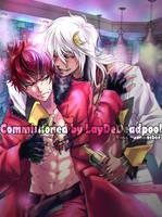 Comm: For LayDeDeadpool by megumonster