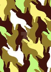 tessellation:1160 wolf by sakuramederu