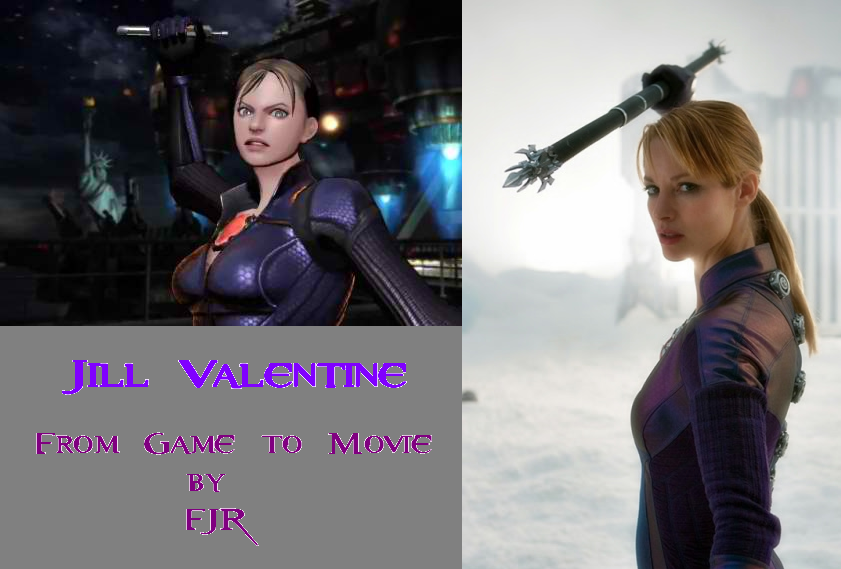 Jill Valentine From Game To Movie By Frankie2013 ...