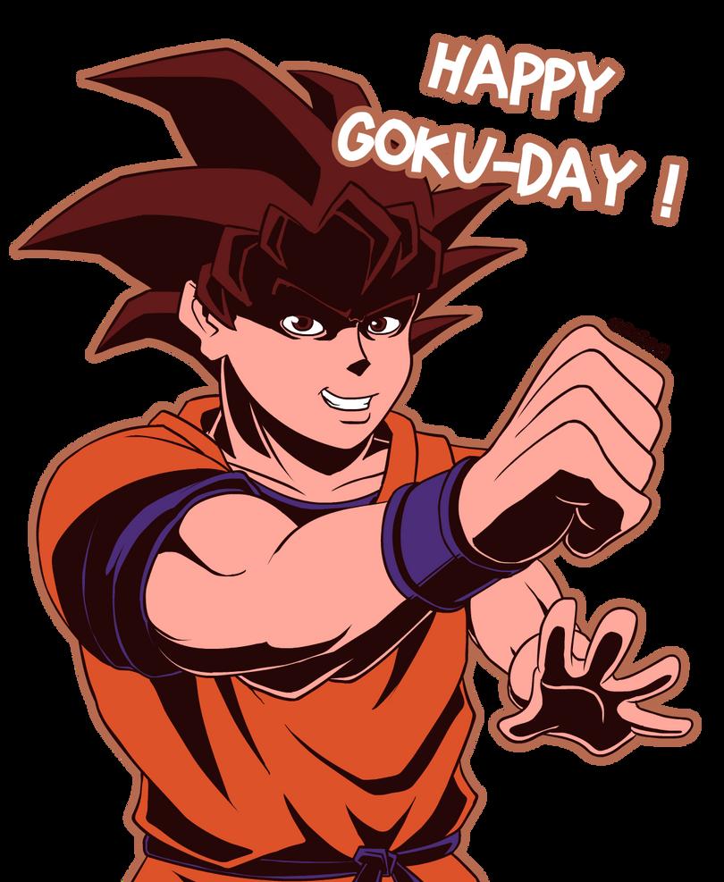 HAPPY GOKU-DAY! by Obisam