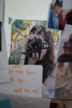 Girl Behind a Camera