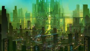 Alien City by thlbest