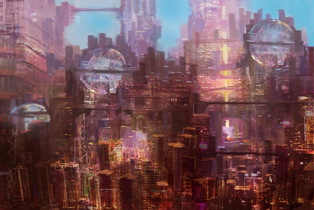 Sci Fi City by thlbest
