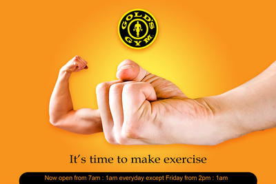 GOLD's GYM by Davinici