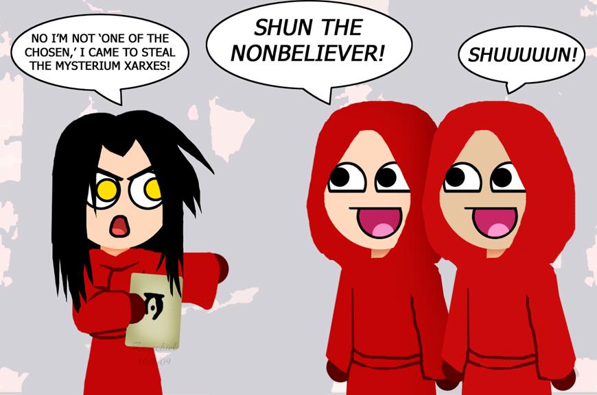shun the nonbeliever by zerachielamora on deviantart