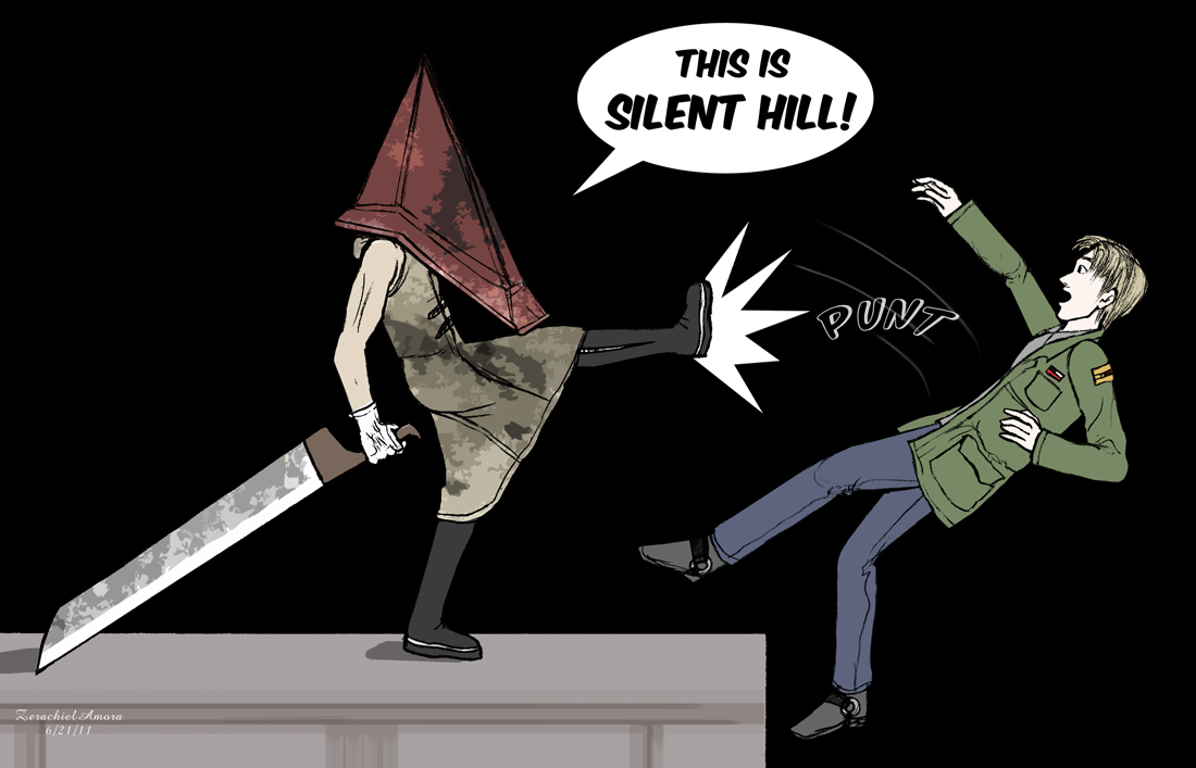 THIS IS SILENT HILL by ZerachielAmora