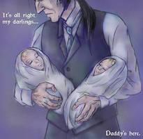 Daddy's Here by ZerachielAmora