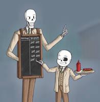 Ketchup or Spaghetti? by ZerachielAmora