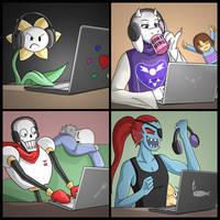 UT Gaming by ZerachielAmora