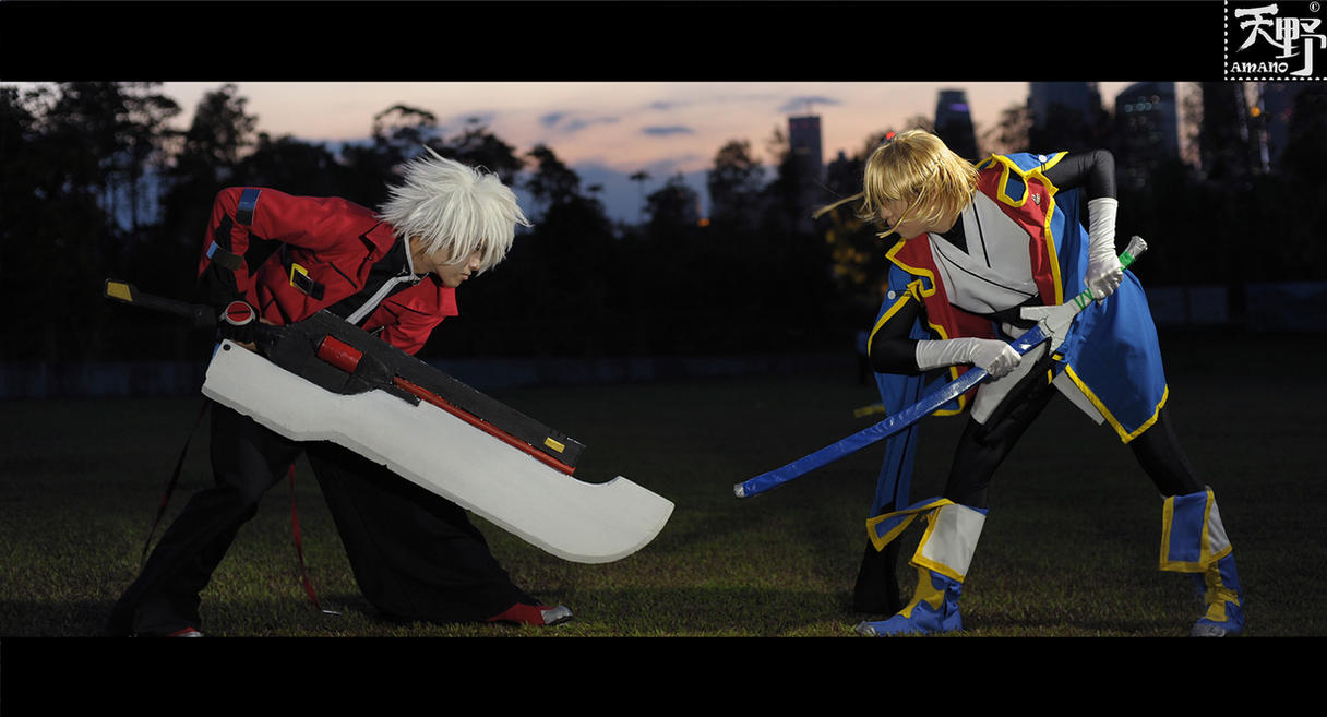 Ragna vs Jin... ::FIGHT:: by Amano7