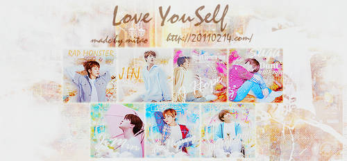 ICON SET BTS LOVEYOUSELF by MiTaoo