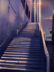 Stairs by nhe1