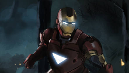 Iron Man by nhe1